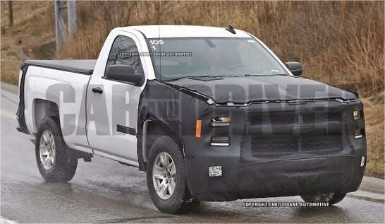 New 2016 Chevy Silverado Debuts (Spy Shots)