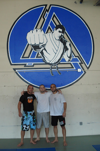 Photo: Anjinho, Ralph Gracie and Bill