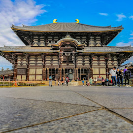Temple In Nara Osaka by Jurich Bitco - Buildings & Architecture Public & Historical ( osaka, japan, temple, historical )