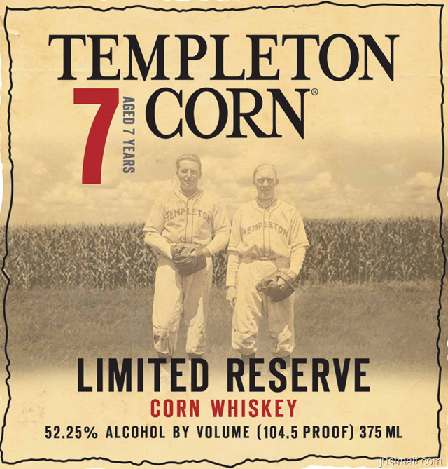 Templeton Limited Reserve Corn Whiskey 7-Year