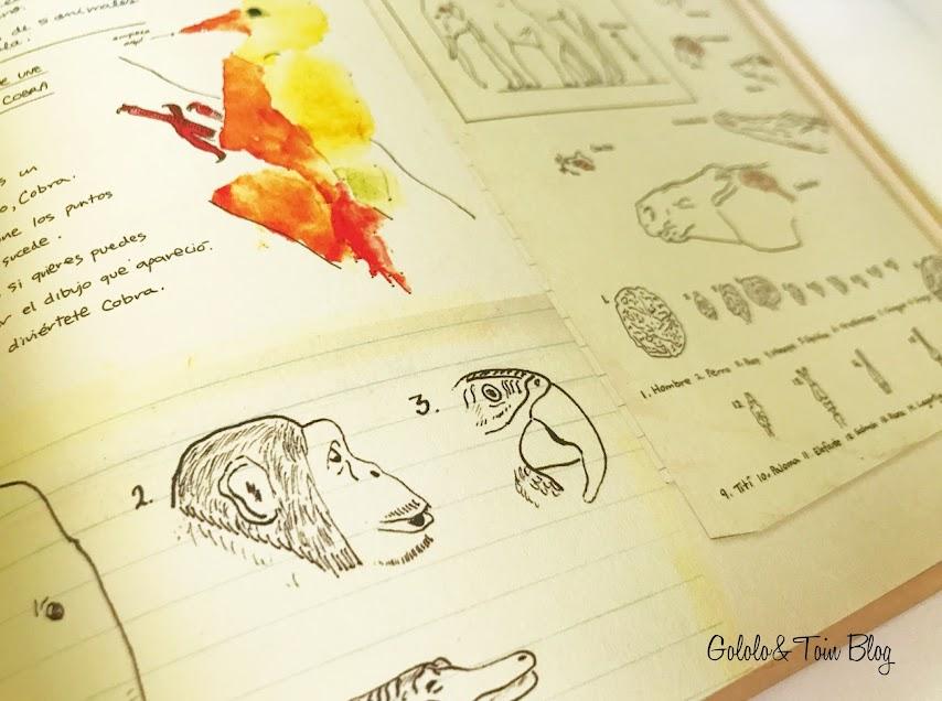 Dibujos de Jane Goodall