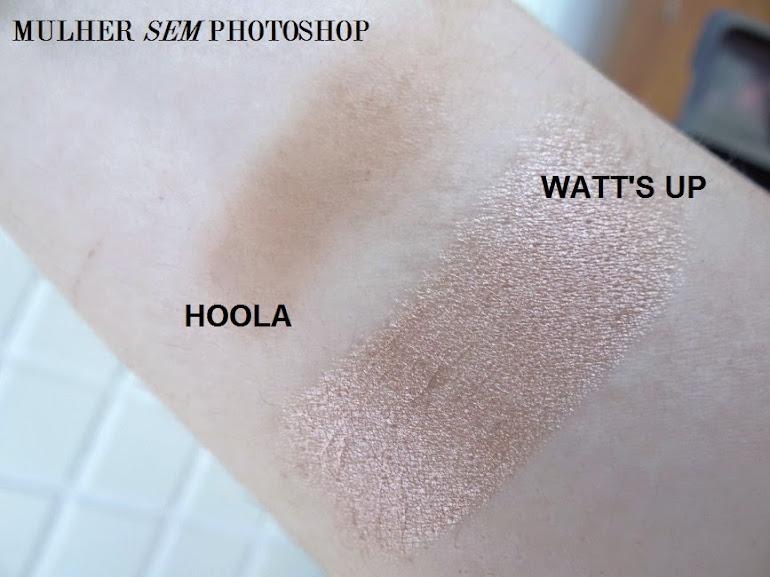 comparação Benefit Hoola Watts Up