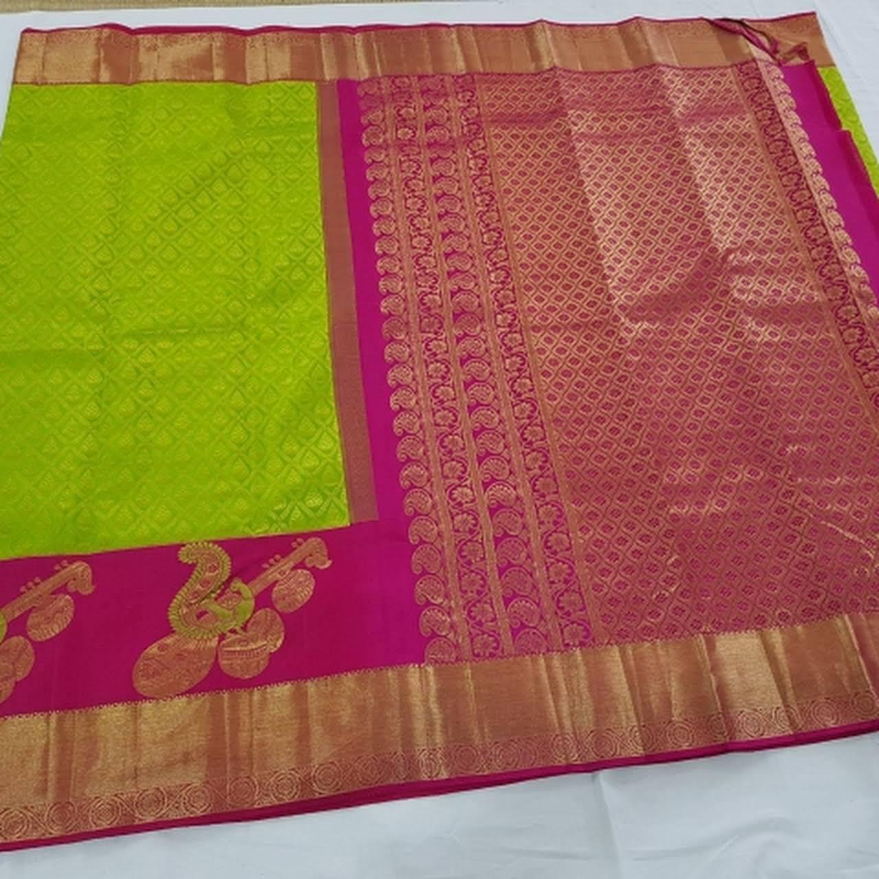 Kanchi pattu sarees - Silk Store in Orikkai, kanchipuram
