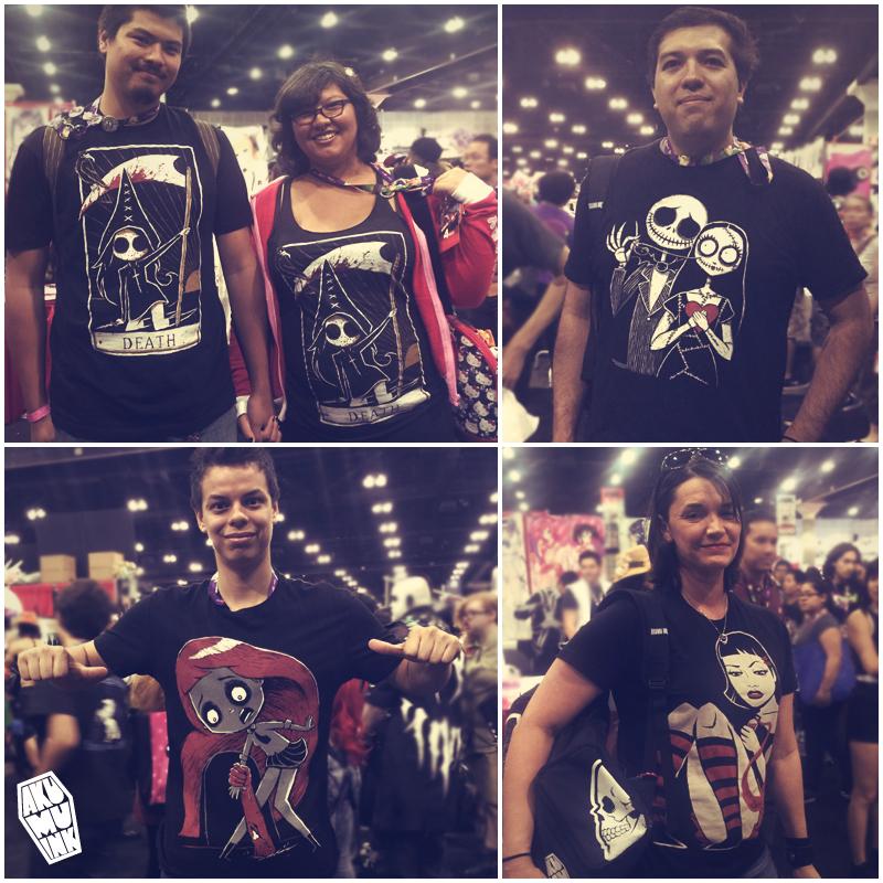 anime expo, animeexpo2105, anime convention, anime tshirt, anime skull tshirt, anime emo, anime goth style,