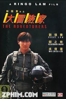 Đại Mạo Hiểm Gia - The Adventurers (1995) Poster