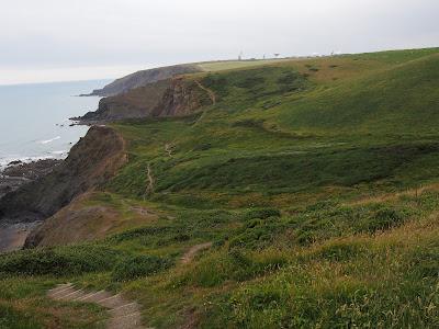 Path out of Warren Gutter