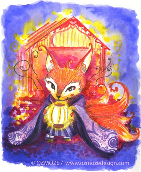 fox spirit, yokai