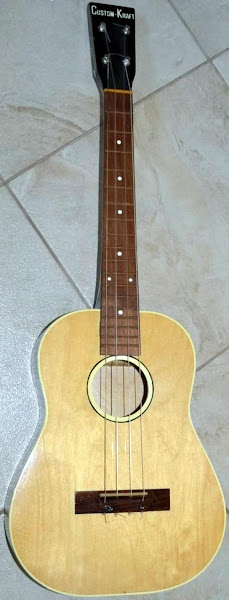 St Louis Music Custom Kraft Baritone Ukulele