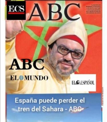 ABC, El Español y El Mundo publican sendos artículos pidiendo a España una postura más promarroquí en el Sáhara Occidental.