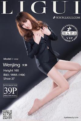 LiGui 2015.09.06 网络丽人 Model 文静 [39P]