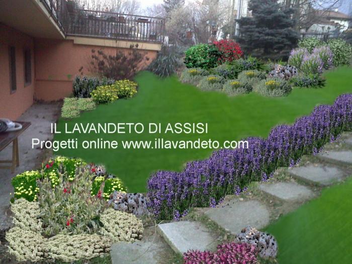 progetti giardini online gratis progetti giardini privati ... - Piccolo Giardino Al Mare