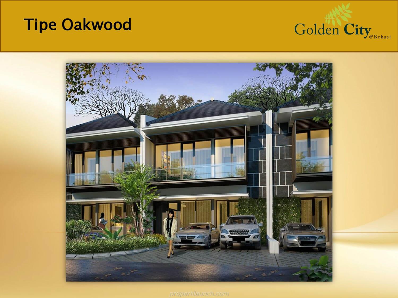 Rumah Cluster Greenwood Golden City Bekasi Tipe Oakwood