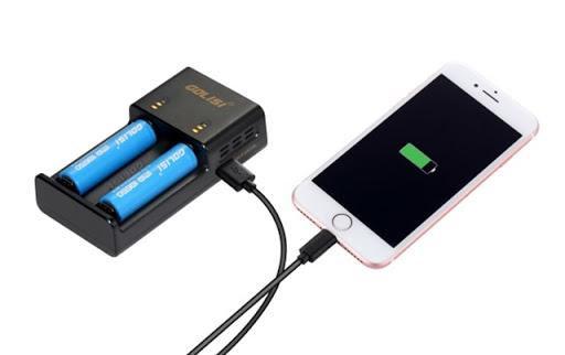 Optimized J4A9043 thumb%25255B2%25255D - 【バッテリー/充電器】「GOLISI O2 インテリジェントチャージャー」レビュー。携行ポーチつき2A急速充電+スマホ充電対応!