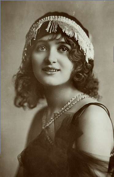 deslys vintage actrice