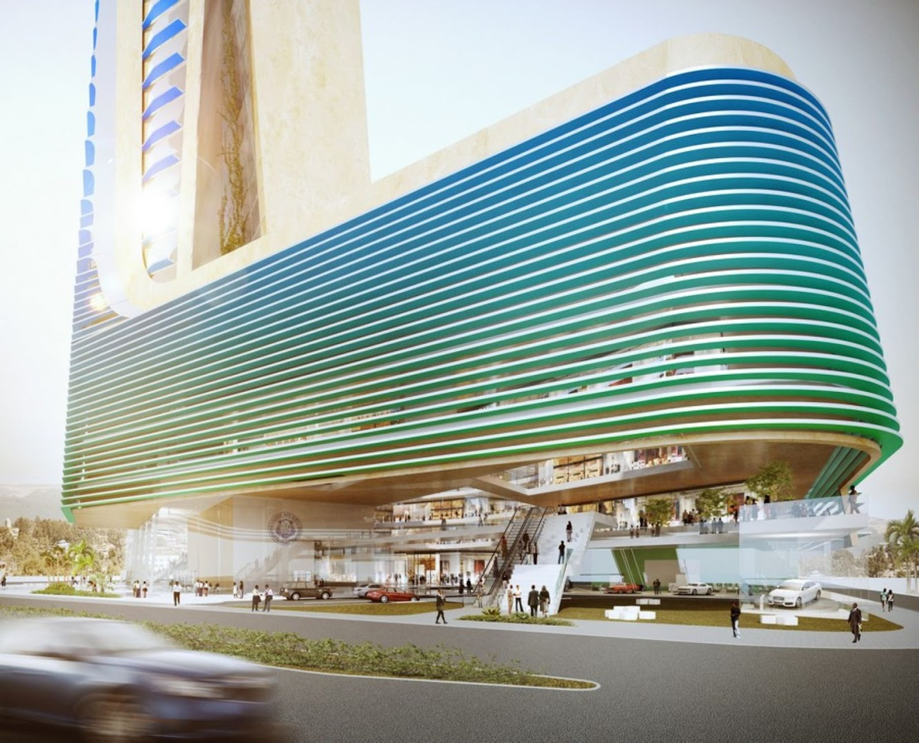 Ethiopian Insurance Corporation by Sohne Partner Architects