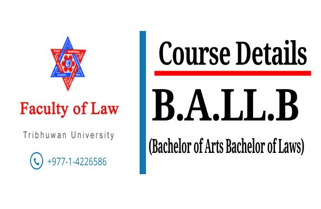 Course Details: B.A.LL.B (TU)