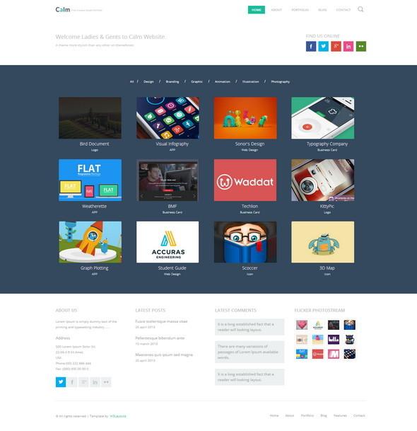 portfolio-html-Template
