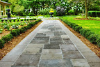 Black and Buff Flagstone Pavers