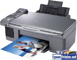 How to reset Epson CX6000 printer