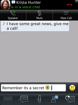 BlackBerry Messenger v8.5.0.18 for BlackBerry