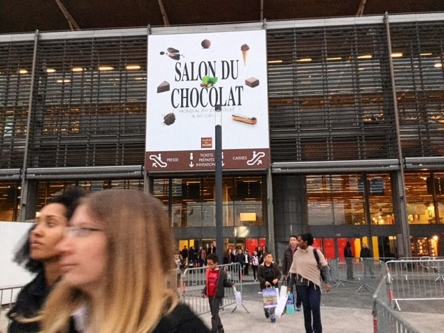 Paris breakfasts salon du chocolat 2016 and french halloween for Porte de versailles salon du running