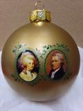 2016 Hamilton Xmas Ornament