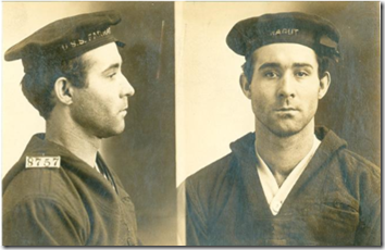 W. H. Ames, Inmate Number 8757, at Leavenworth Federal Penitentiary