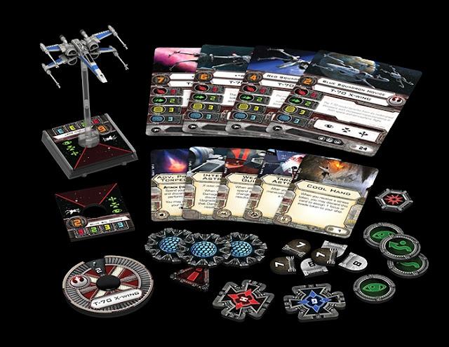 ALA-X/T70 expansión del X-Wing miniature games