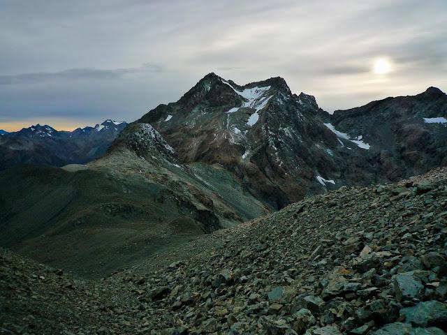 Lukasz Kocewiak - Mt Harper w drodze na Kahutea Col