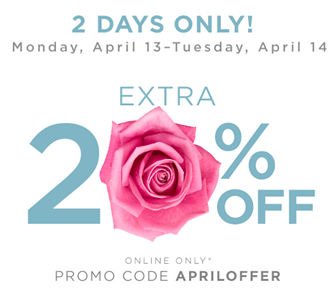 New Yes Pass Coupon April 2015 - 20% any purchase