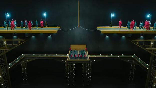 Tug Of War squid game