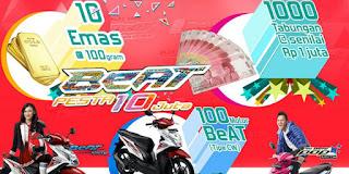Promo Honda Beat Pesta 10 juta