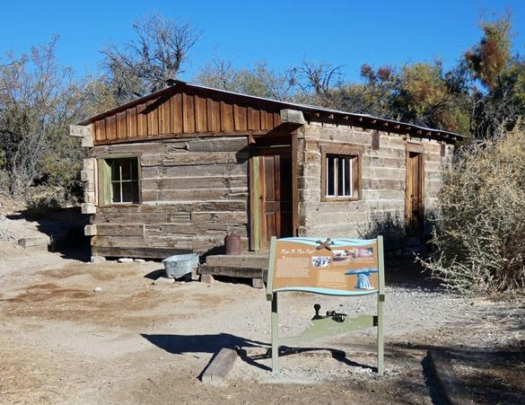 Railroad Tie Cabin
