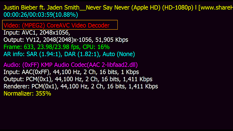 วิธีง่ายง่ายๆที่ทำให้คอมเครื่องเก่าๆเปิดวีดีโอ HD ได้โดยไม่กระตุกด้วย CoreAVC  29-5-2554%25252016-09-09