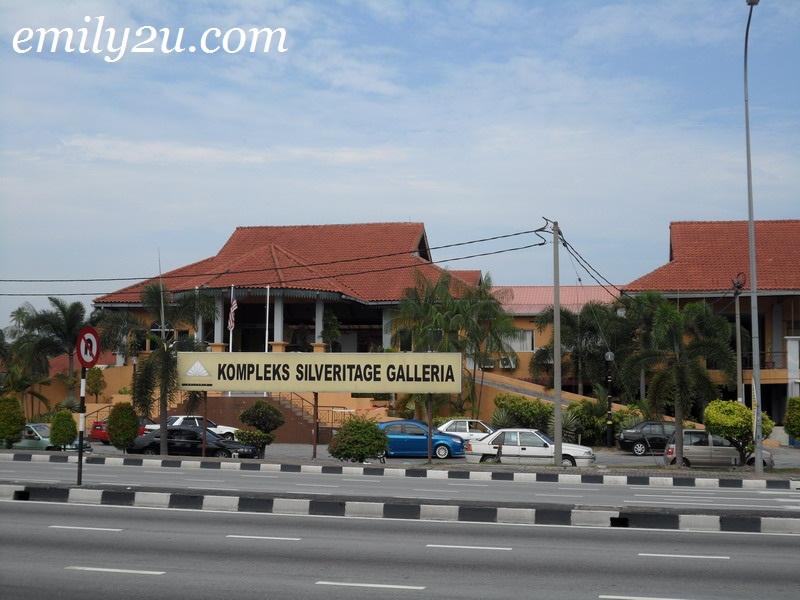 Kompleks Silveritage Galleria Medan Gopeng Ipoh