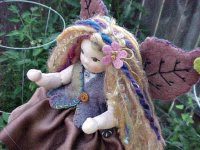 "Fairy Hoopla - Meet Nora, an 8"" Button Jointed Fairy"