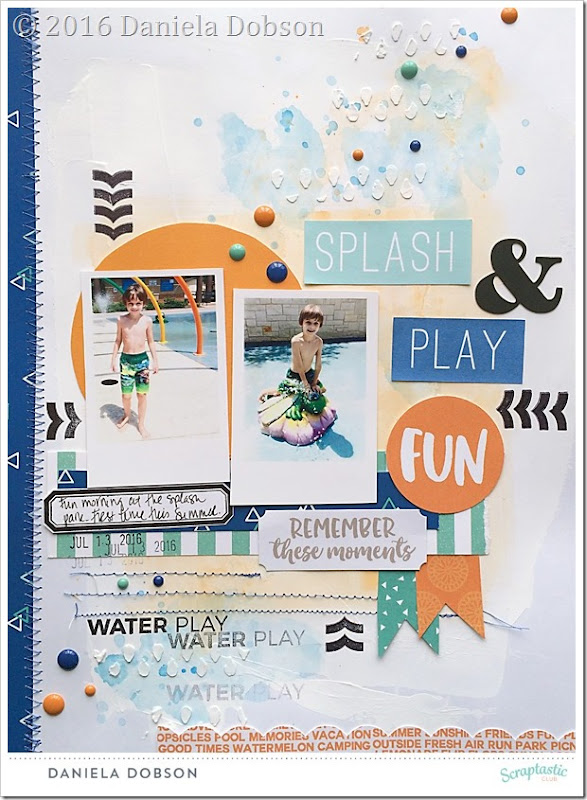 Splash and play by Daniela Dobson