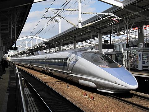 JR西日本 500系「こだま」 岡山駅にて