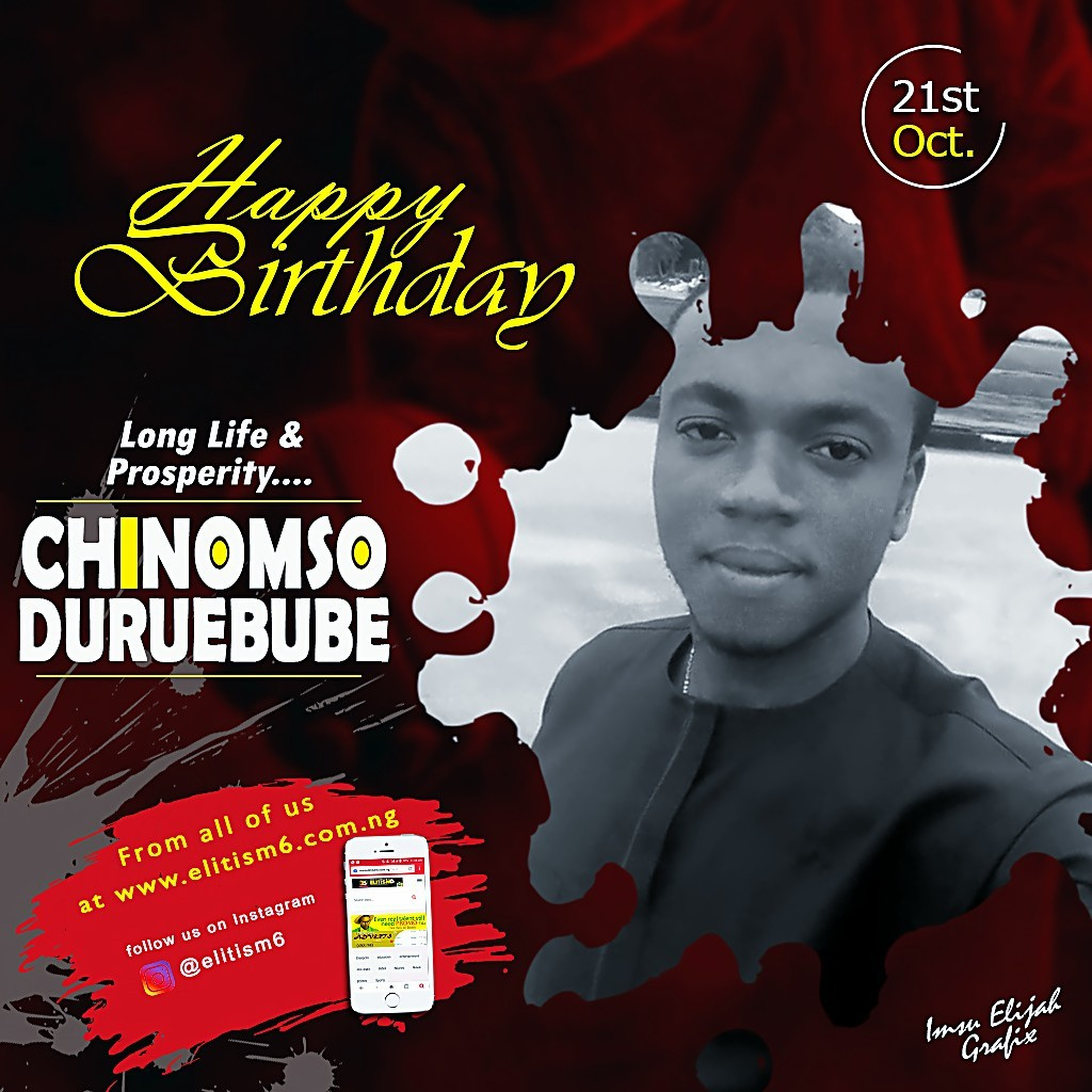 Happy Birthday Chinomso One Of Our Numerous Beneficiaries