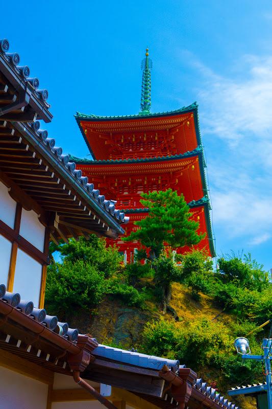 Shodoshima Island, Meiro no machi (Maze Town), Saikoji Temple 2