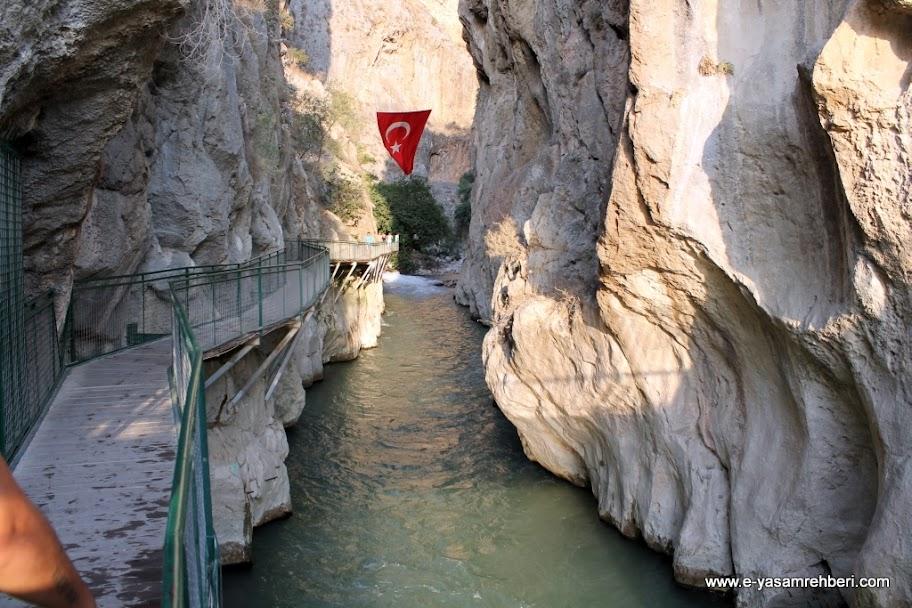 saklıkent kanyonu
