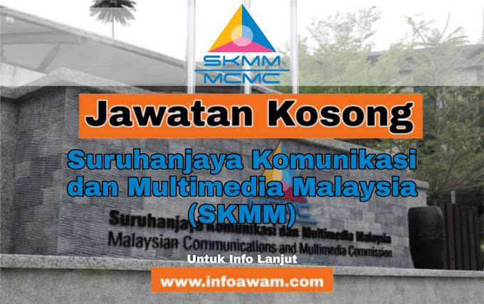 Jawatan Kosong Terkini Di Suruhanjaya Komunikasi dan Multimedia Malaysia (SKMM)