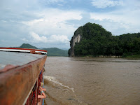 Mekong slow boat to Luang Prabang - Day 2