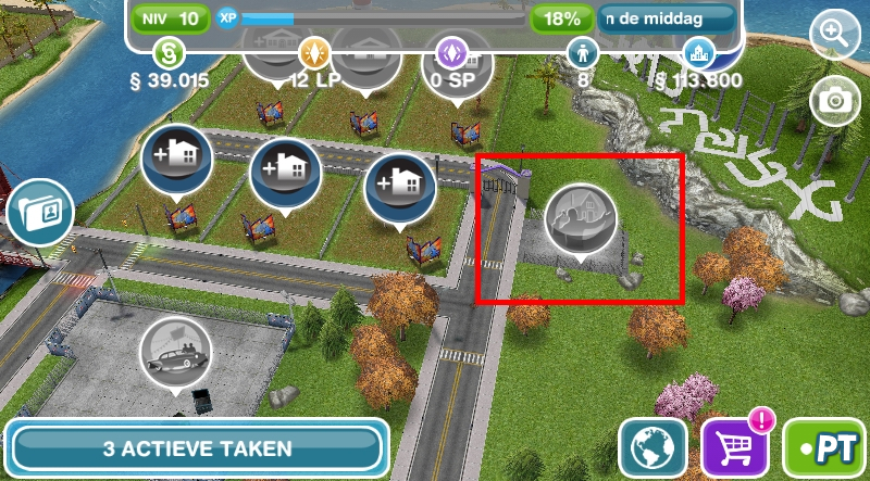 The Sims FreePlay Real Estate Agency