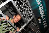 A solid shark cage (© 2010 Isabell Gernert)
