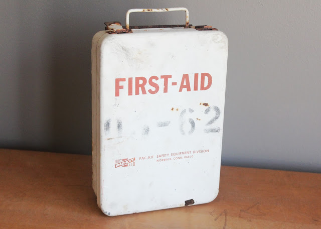 First Aid Kit available for rent from www.momentarilyyours.com, $3.00.