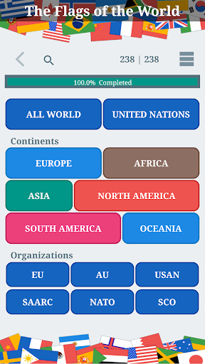 The Flags of the World u2013 Nations Geo Flags Quiz 4.9 screenshots 22