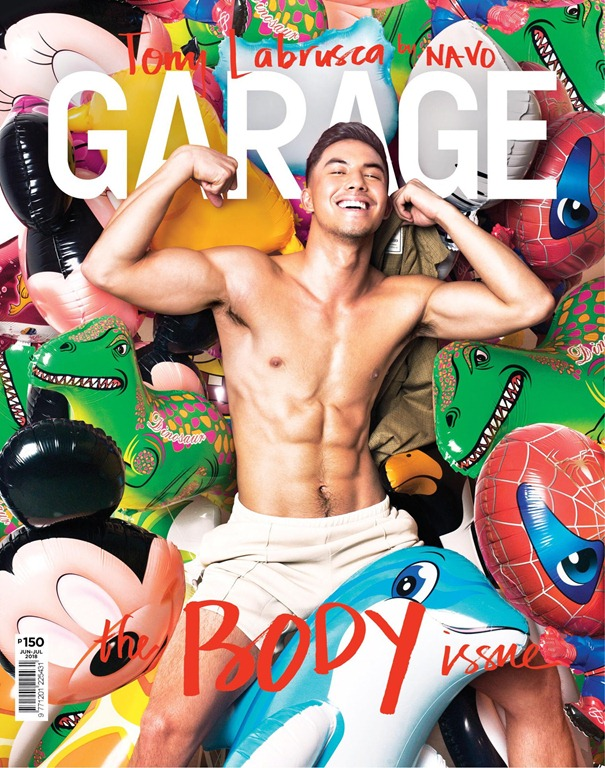 Tony Labrusca Garage magazine cover June July 2018