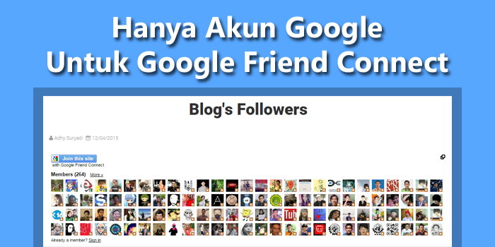 Google Friend Connect