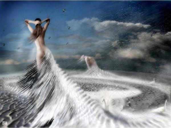 Girl In Dress Of Ocean, Magic Beauties 3